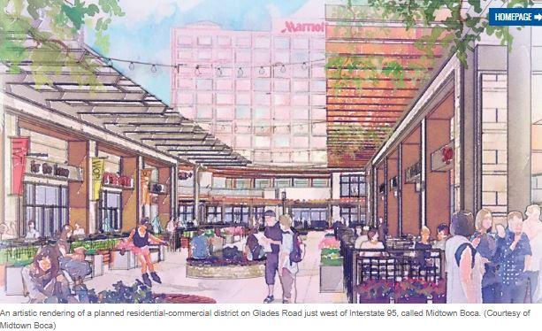 Public input on Midtown Boca will delay development until at least July