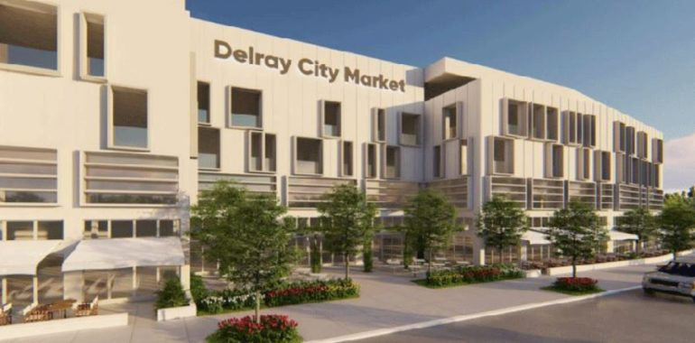Giant food hall coming to Delray Beach on former condo site