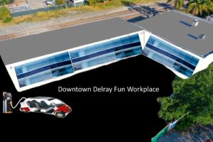Delray Beach Warehouse Office Conversion